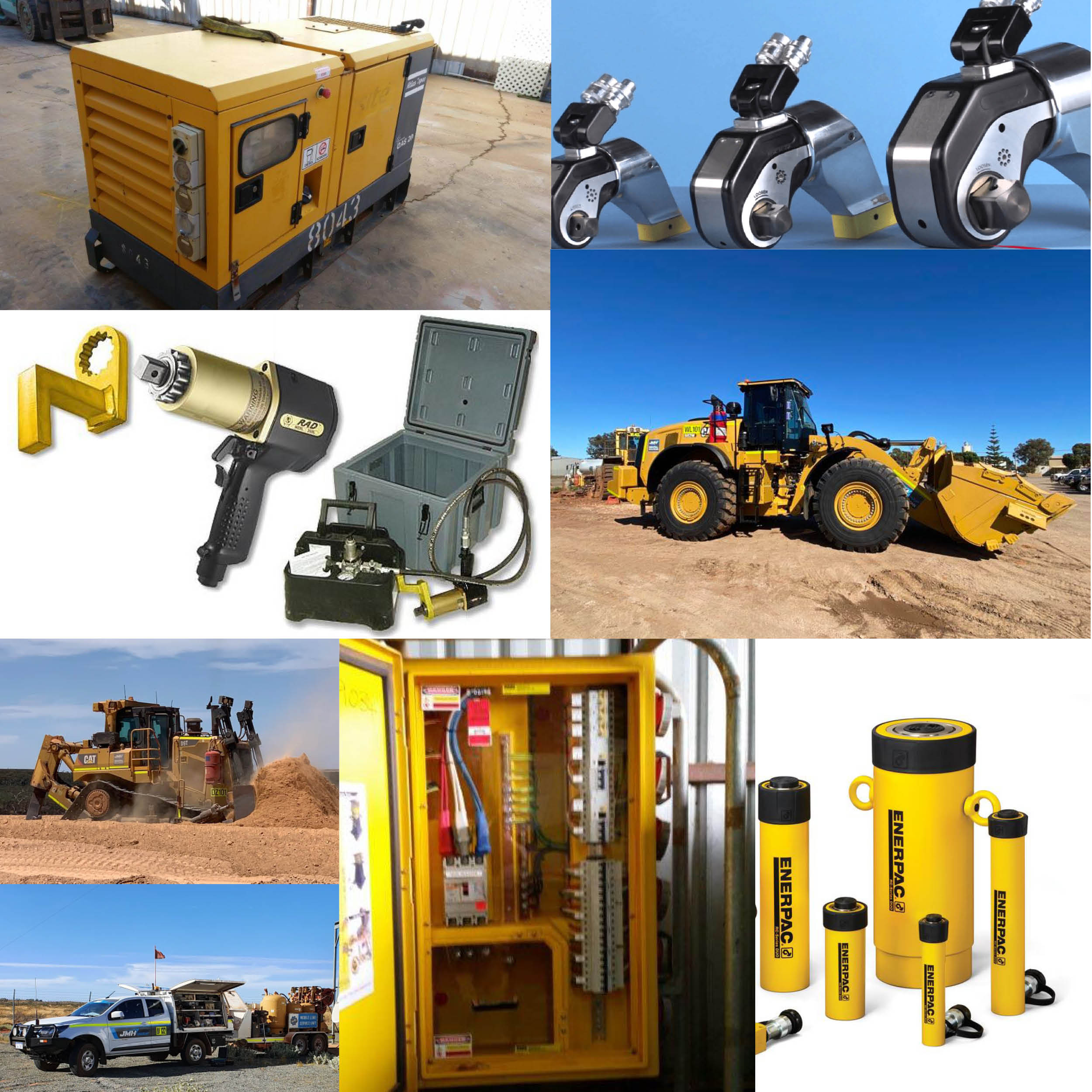 Services_Equipment for hire